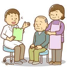 先生と患者さんイラスト