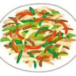 シャキシャキの美味しい野菜炒めはゆでるのがポイント!