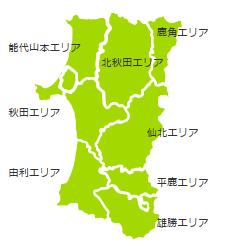 国民文化祭エリア地図